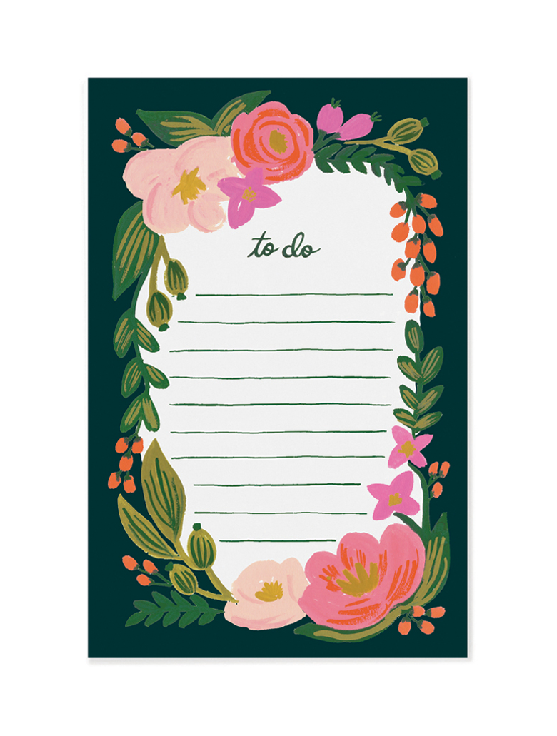 Rifle Paper Co - Rosalie Notepad