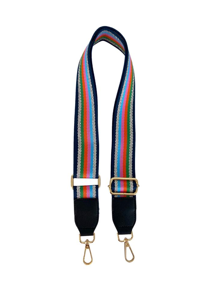 Black Colour - HAVANNAH lurex stripe - bagstrap
