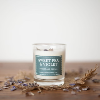 The Country Candle - Sweet Pea & Violet