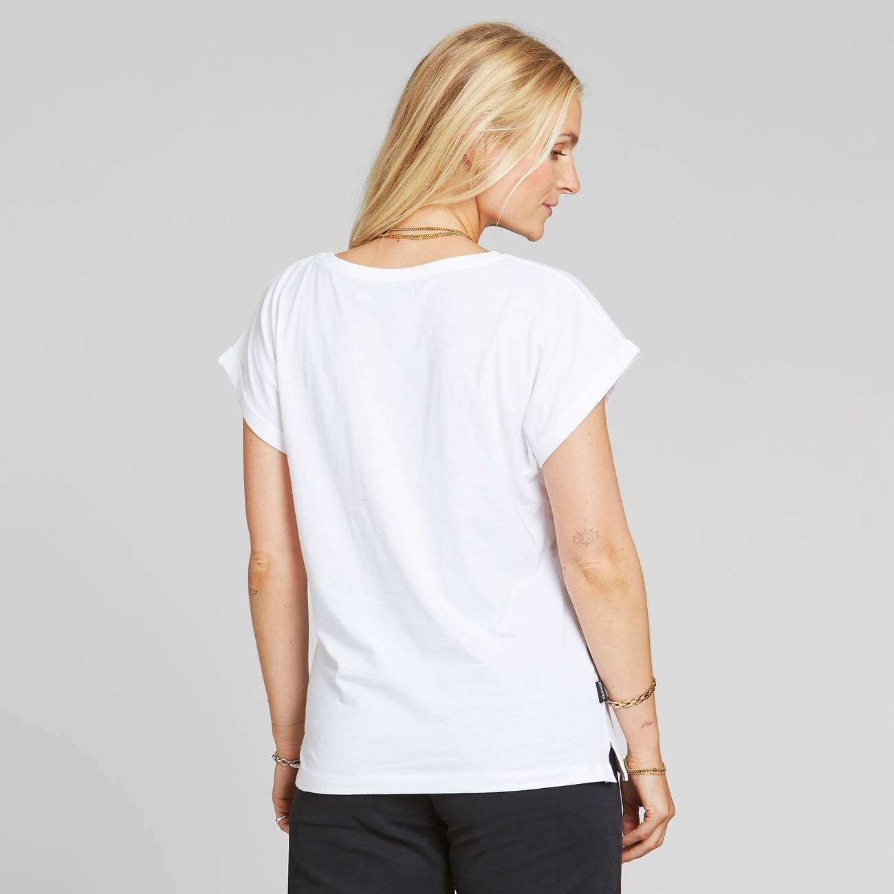 Dedicated - T-shirt Visby Dandelion White