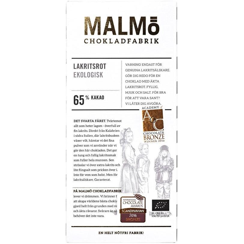 Malmö Chokladfabrik - Tegel Lakritsrot