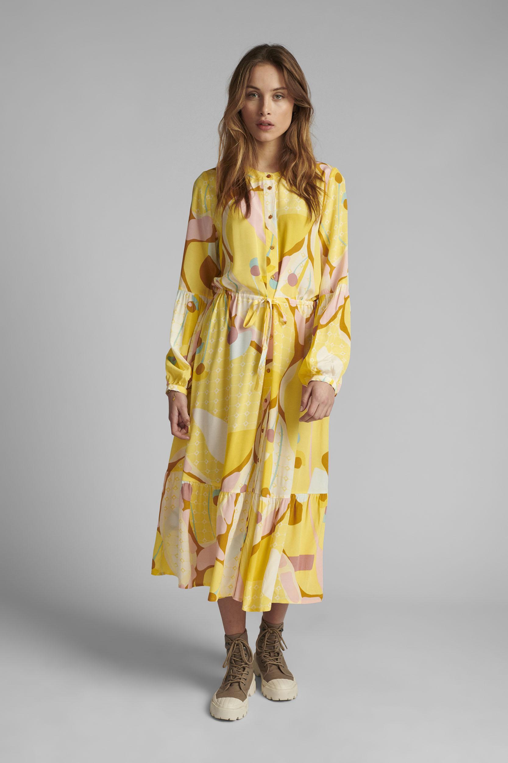 Nümph - NUCASEY - Maxiklänning Yellow
