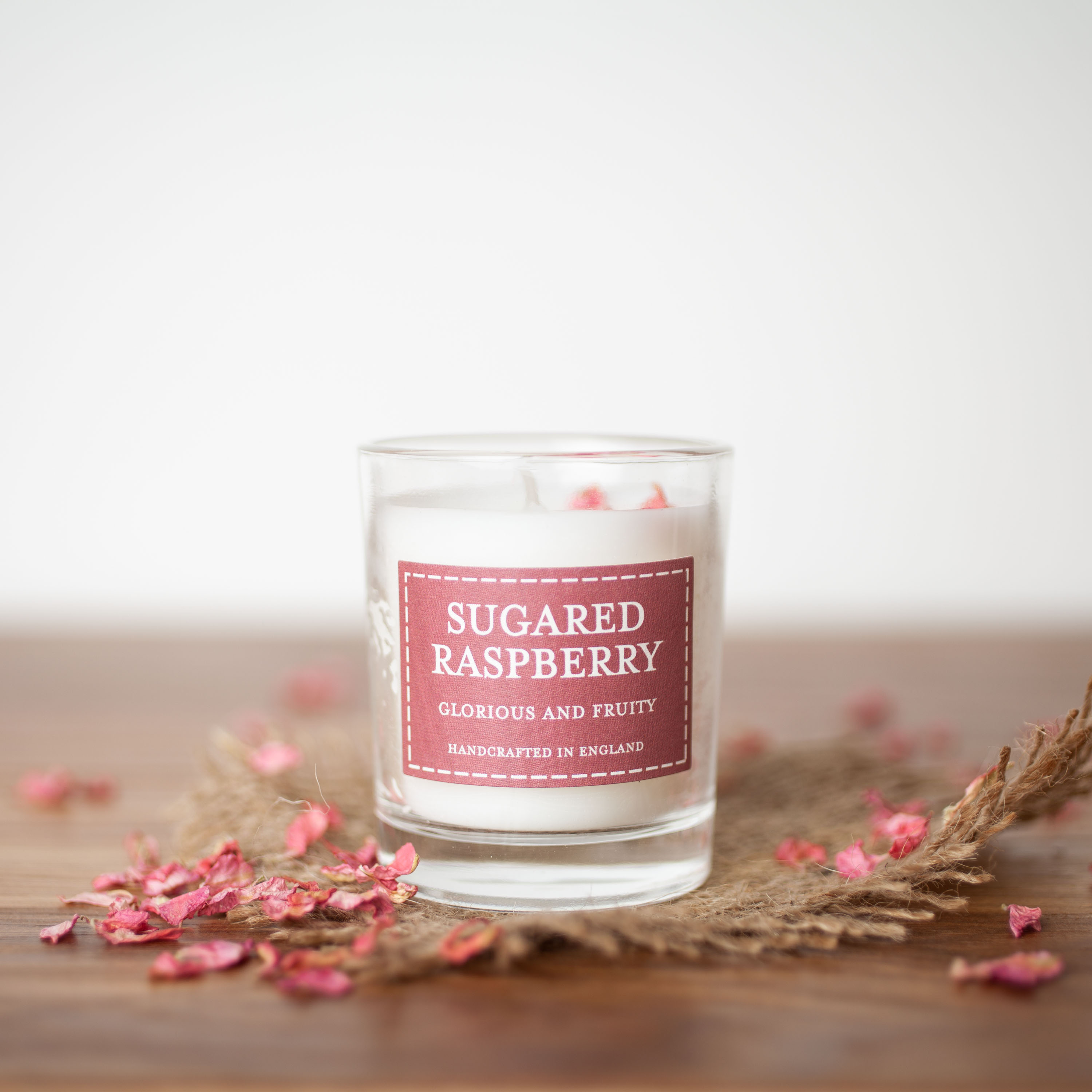The Country Candle - Sugared raspberry