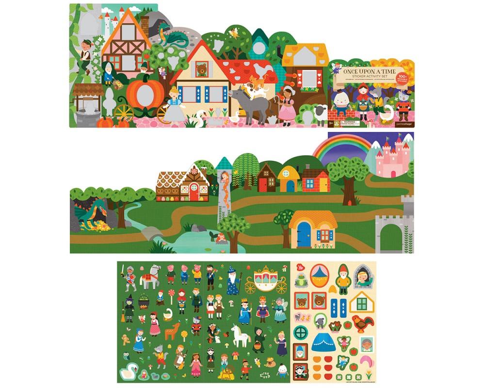 Petit Collage - Stickerset Sagor