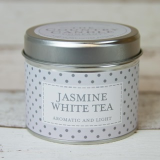 The Country Candle - Jasmine White Tea
