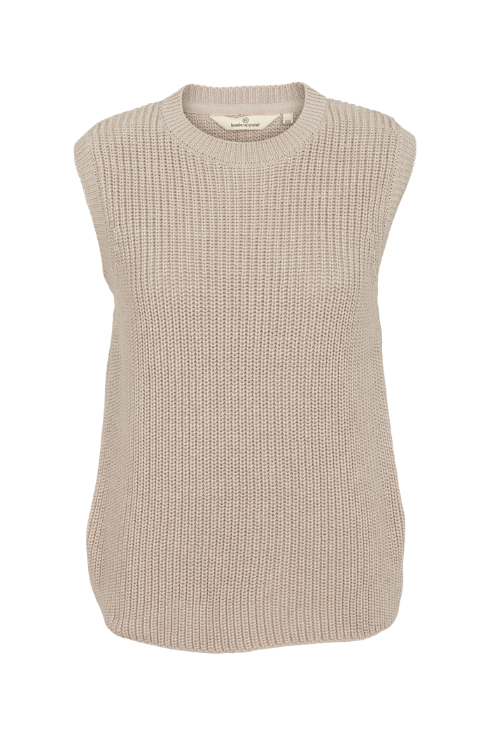 Basic Apparel - Sweety Vest Organic Sand