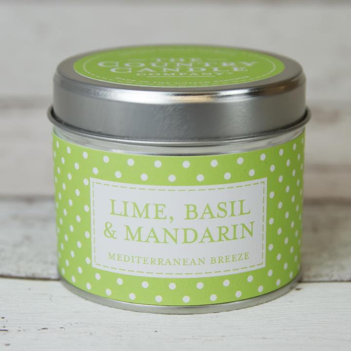 The Country Candle - Lime, Basil & Mandarin