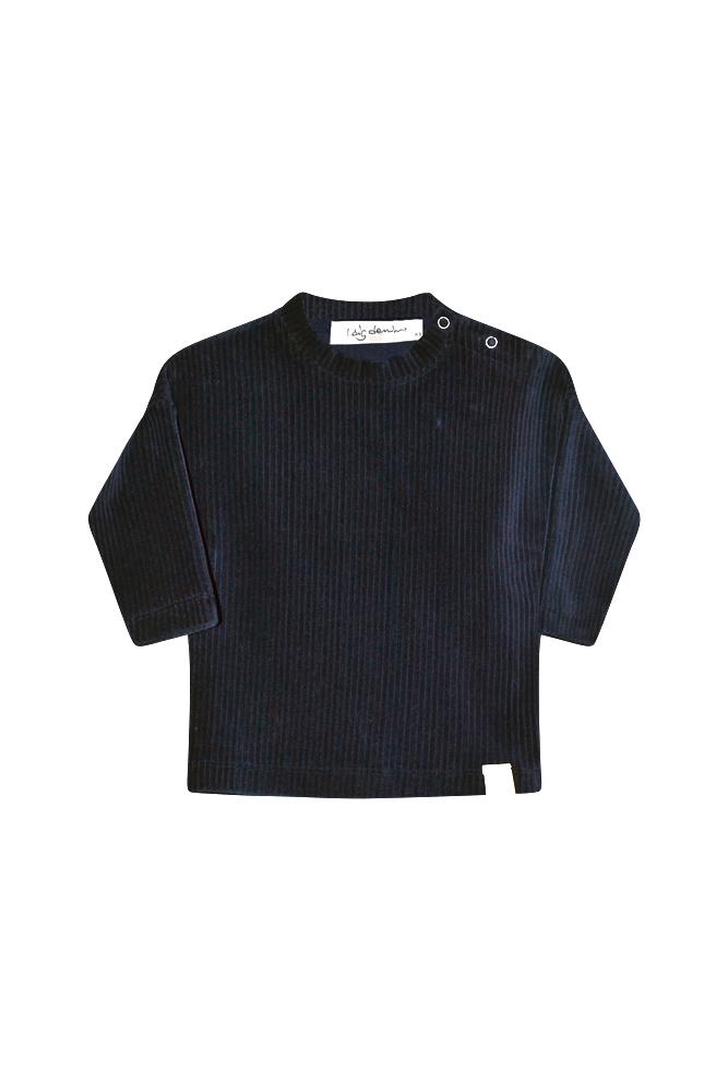 I Dig Denim - Hazel rib sweater bordeaux