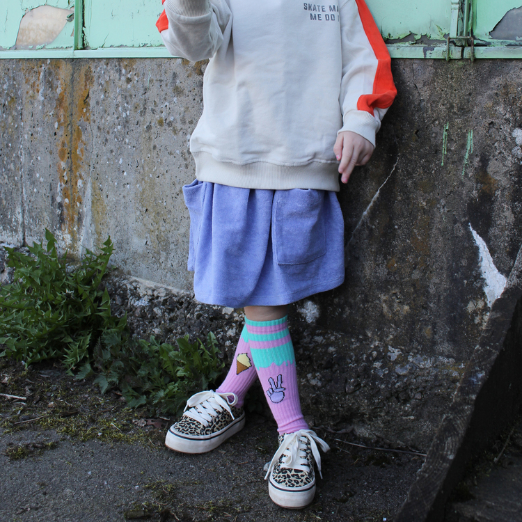Lillster - Peace out knee socks