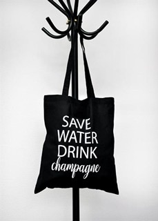 "Mellow Design - Tygkasse ""Save water"""