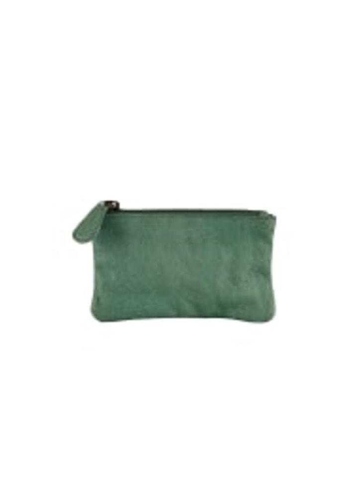 Black Colour - Mini wallet aqua