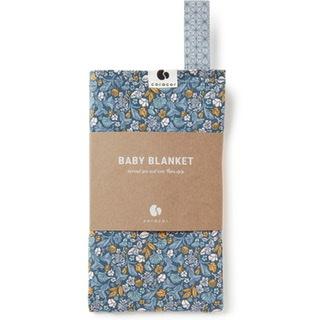 Coracor - Tinyflower Blue Babyfilt