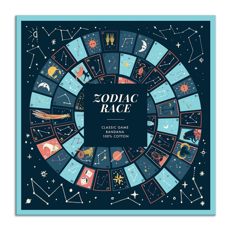 Galison - Zodiac Race Classic Game Bandana