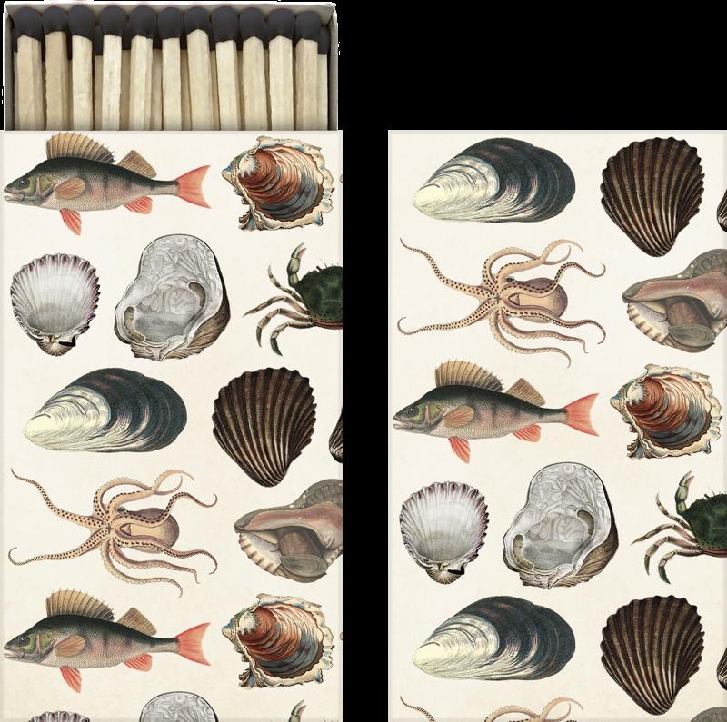 Sköna Ting - Tändsticksask - Sjödjur