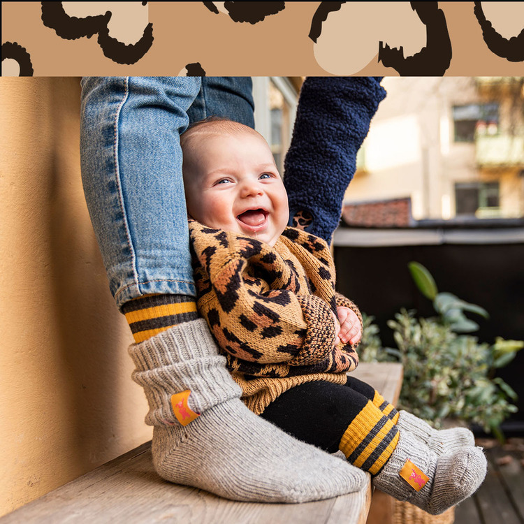 Lillster - Mustard Maggie Wool Sock