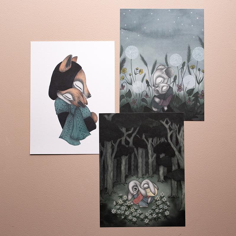"Kajsa Wallin - Prints ""Blue Hour"""