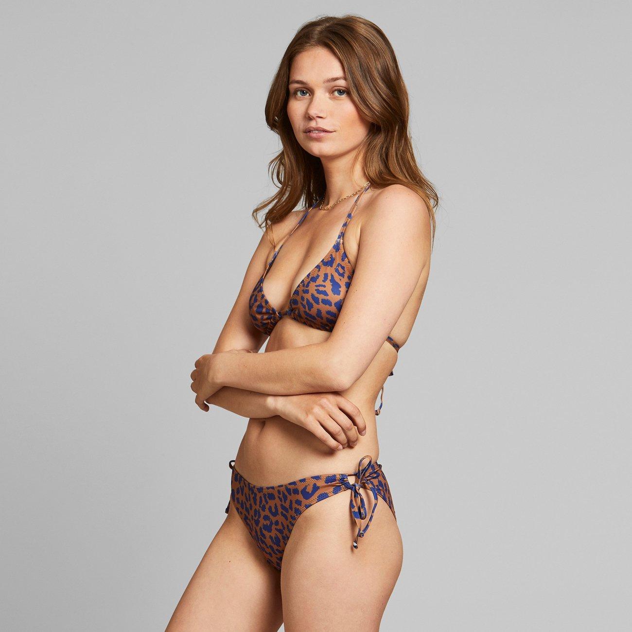 Dedicated - Bikini Underdel Odda Leopard Light Brown