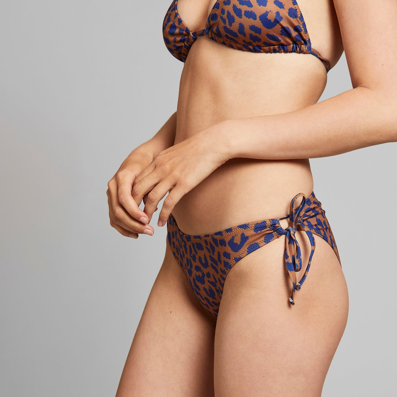 Dedicated - Bikini Underdel Odda Leopard Light Brown REA 50%