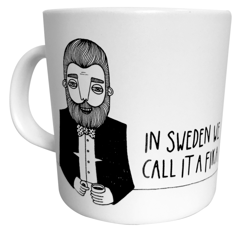 Bahkadisch - Mugg - In sweden we call it a fika