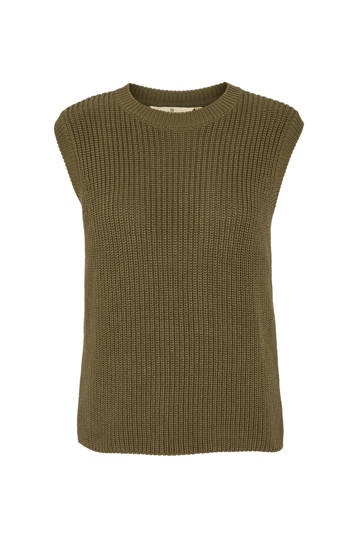 Basic Apparel - Sweety Vest Organic Army