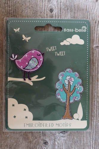 Applikationer - Fågel med träd