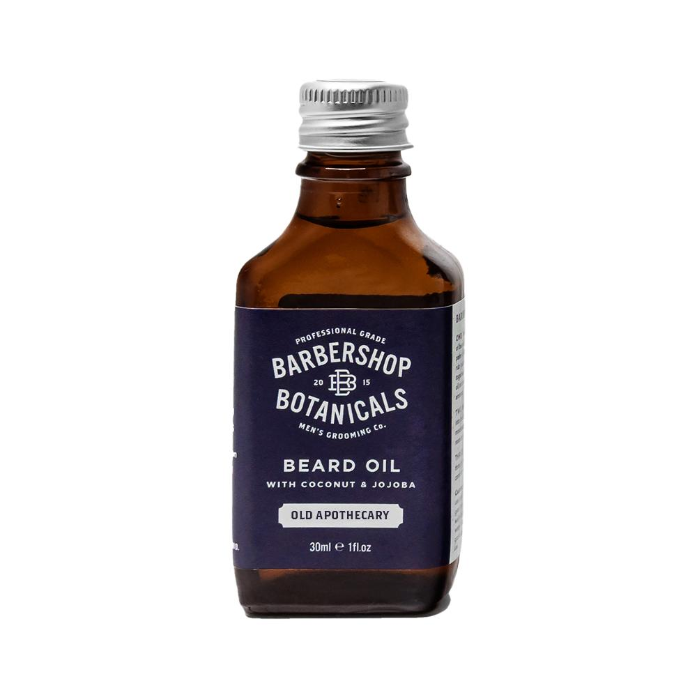 Barbershop Botanicals - Old Apothecary Beard Oil with coconut & jojoba  30ml