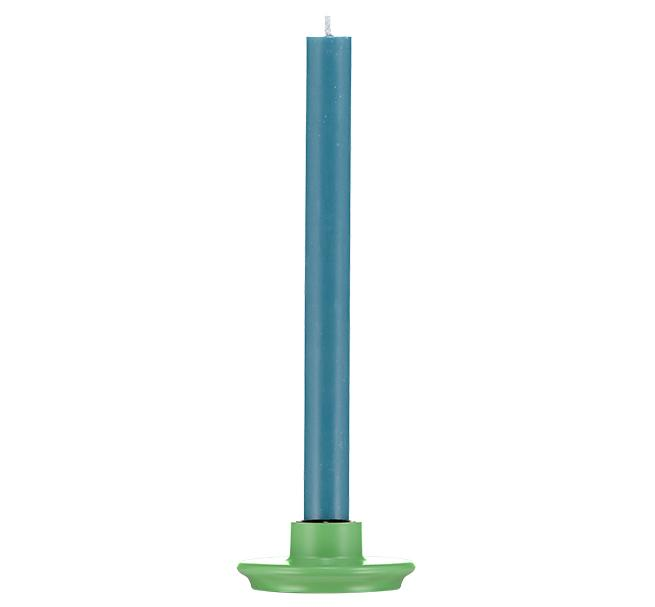 BCS British Colour Standard Small Candle Holder -  Porcelain Green