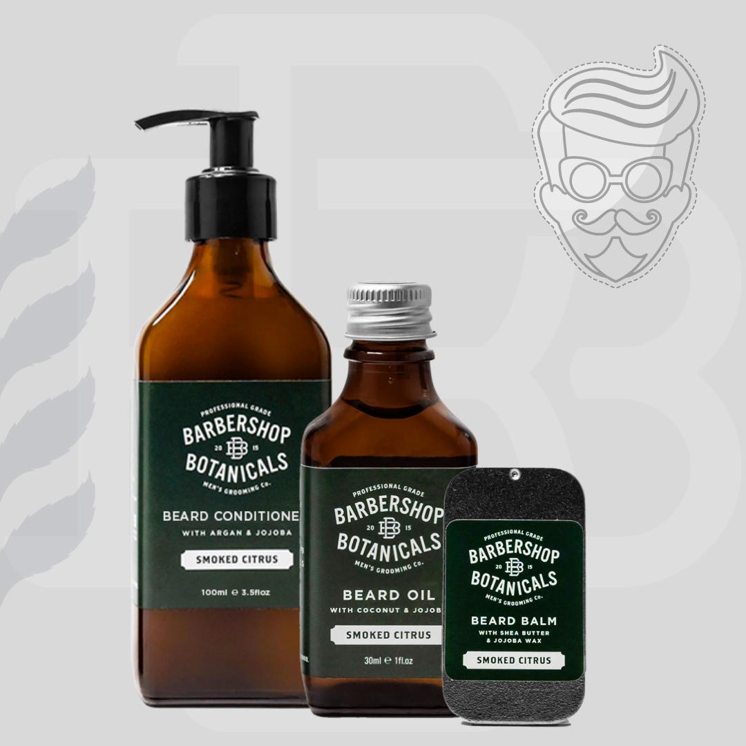 Barbershop Botanicals - Old Apothecary Beard Care Gift Set