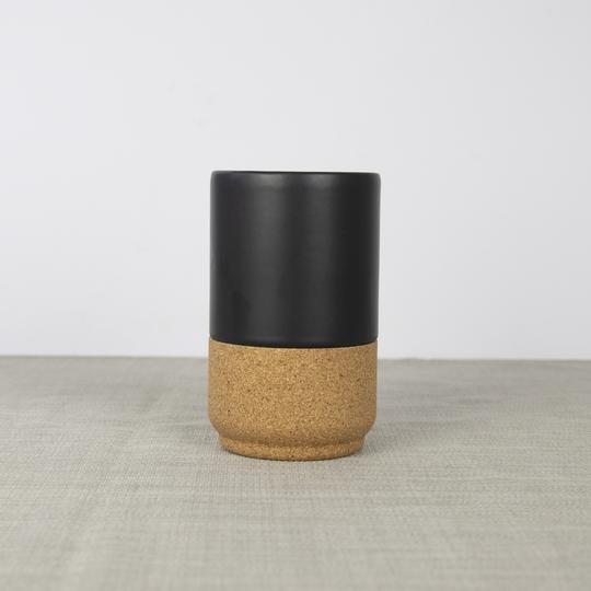 Liga Large Mug - Matte Black