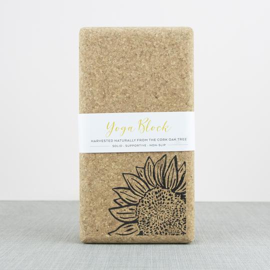 Liga Yoga Block Sunflower