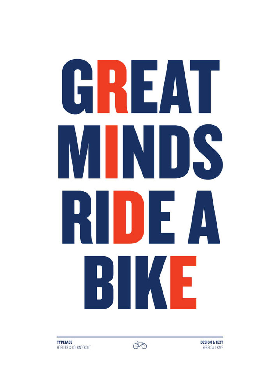 'Great Minds'  (A3) Art Print (East End Prints)