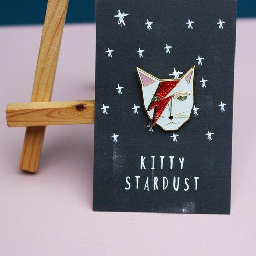 Niaski - Kitty Stardust Enamel Pin