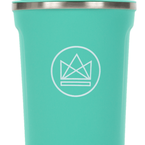 Neon Kactus -  Mint Green  Stainless Steel Coffee Cup