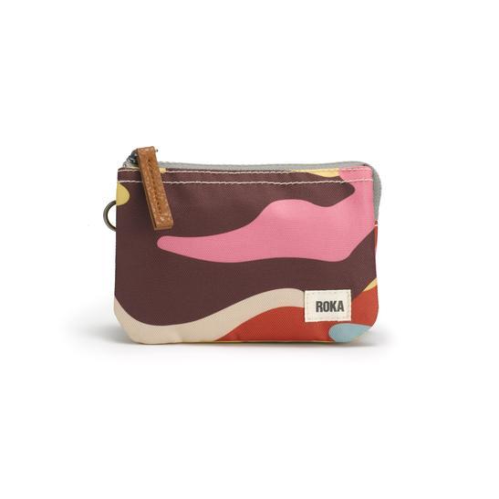 Roka Carnaby Retro Camo Wallet  - Sustainable