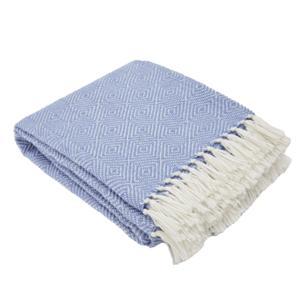Weaver Green - Diamond  Blanket - Cobalt