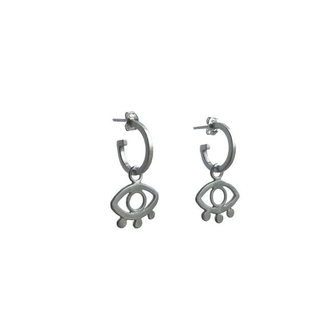 Lima Lima - Eye Hoops Brass
