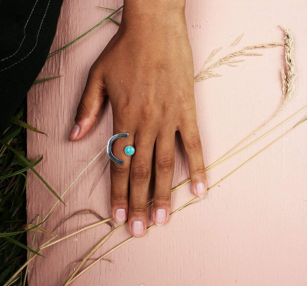 Lima Lima - Deco Rings New With Turquoise Stone
