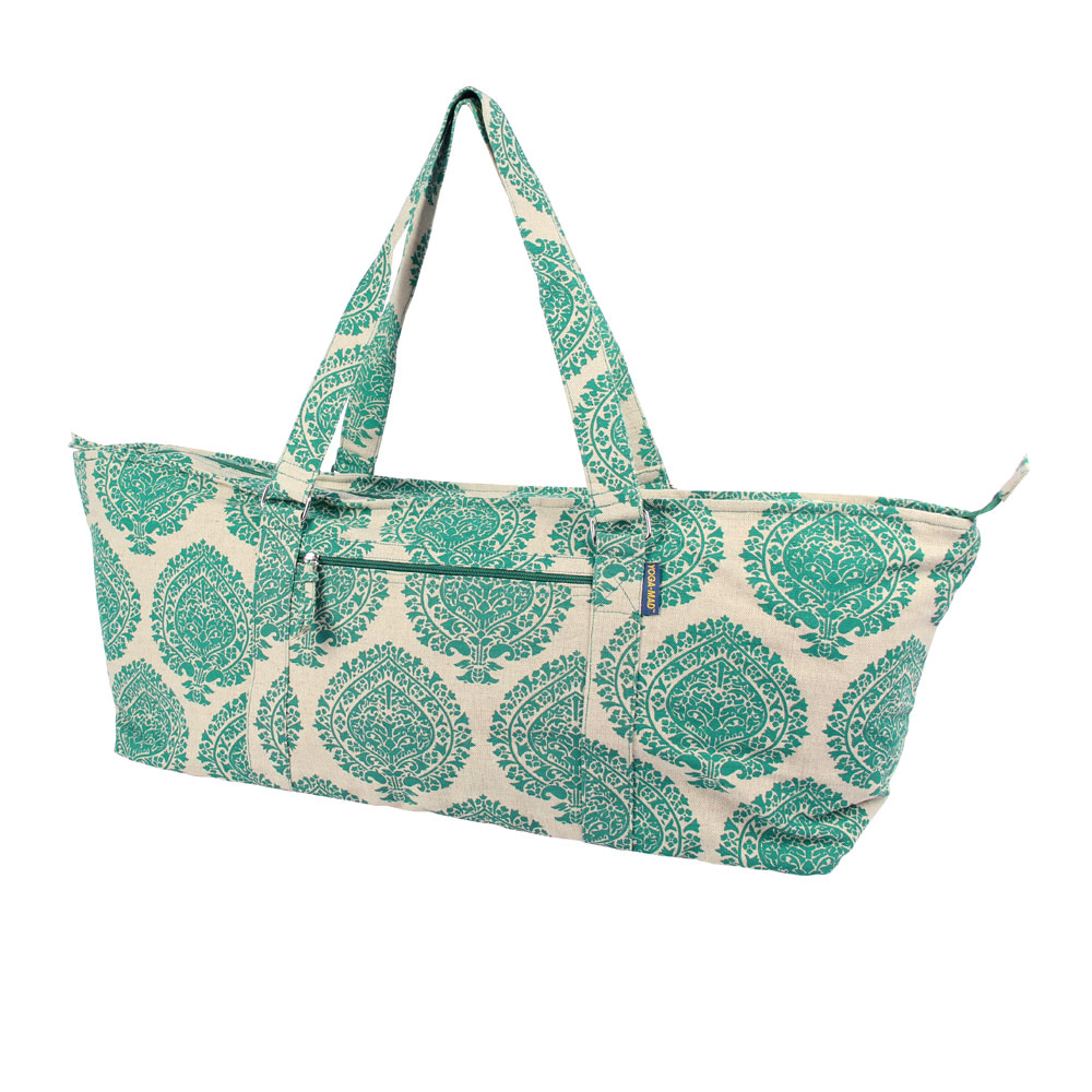 Deluxe Yoga & Pilates Prop Bag Green