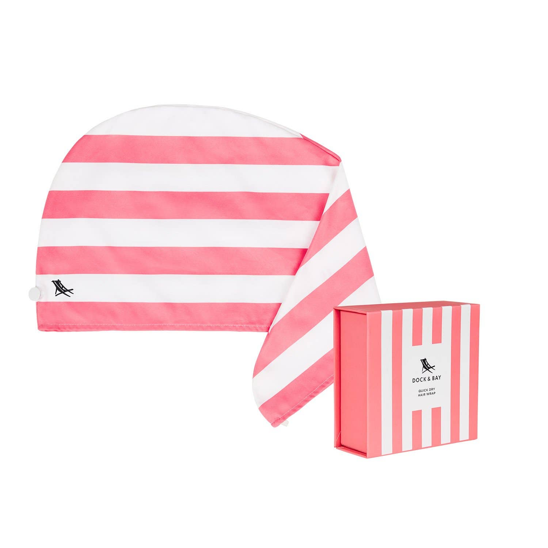 Dock & Bay Hair Wrap - Quick Dry Hair Towel - Kuta Pink