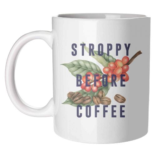 'Stroppy Before Coffee' Mug (Art Wow)