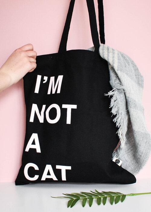 Niaski - I'm Not a Cat Tote bag