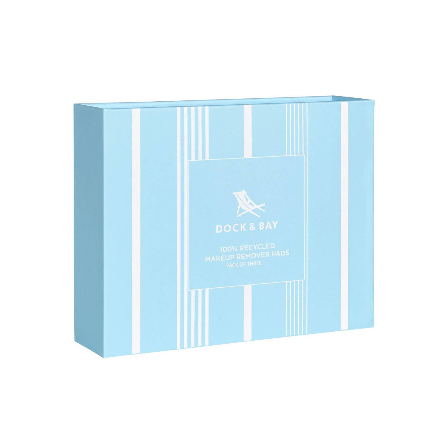 Dock & Bay - Reusable Makeup Removers - Chamomile Blue - 3 Pack