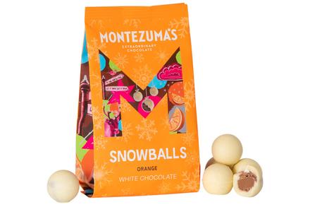 Montezumas Chocolate - Milk Choc & Orange  Snowballs 150g