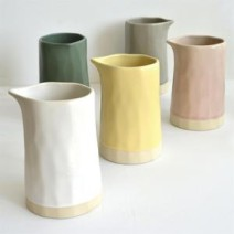 (Dassie Artisan) Chickidee Organic Carafe / Vase- Pink