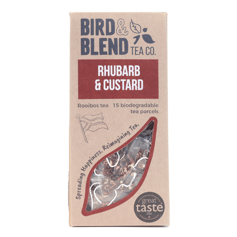 Bird & Blend Tea - Rhubarb & Custard Tea Bags (15)