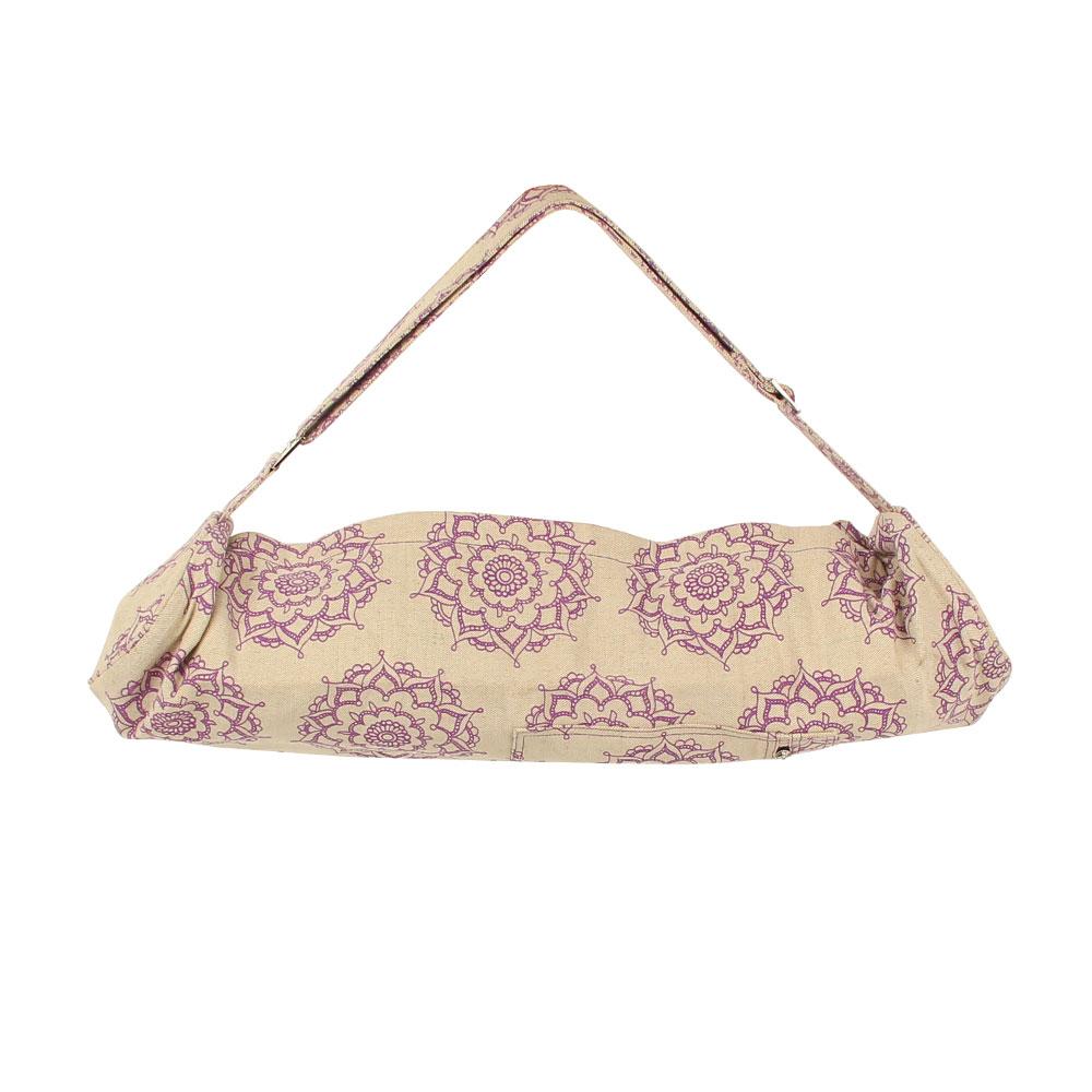 Mandala Patterned Yoga Mat Bag