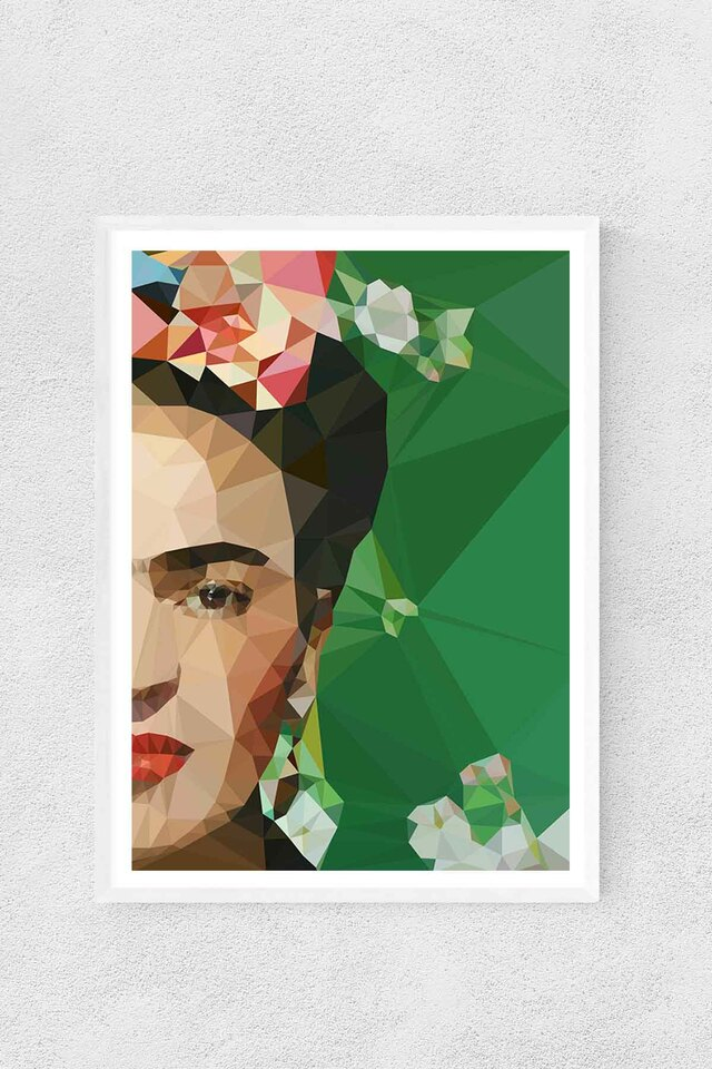 'Frida Crop'  (A3) Art Print (East End Prints)
