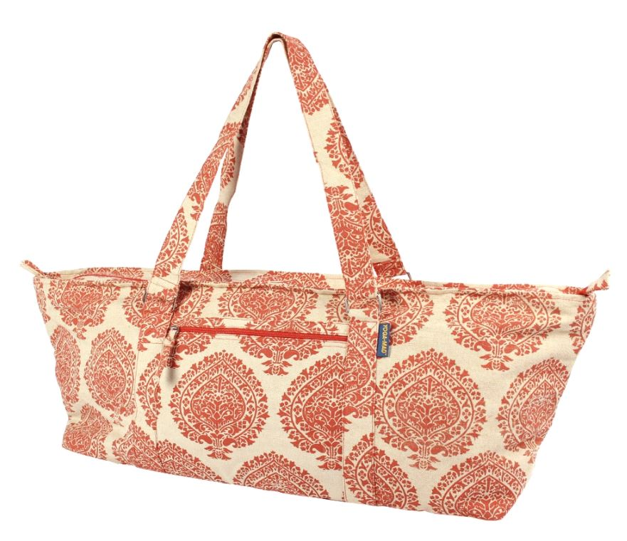 Deluxe Yoga & Pilates Prop Bag Orange