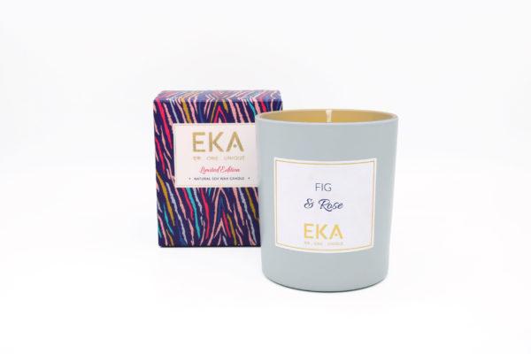 EKA - Fig & Rose Soy Wax candle