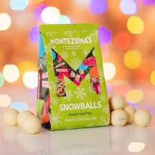 Montezumas Chocolate - Peanut Butter  Snowballs 150g